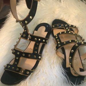 0bb4250f018 Christian Louboutin · Christian Louboutin Studded Gladiator Sandals